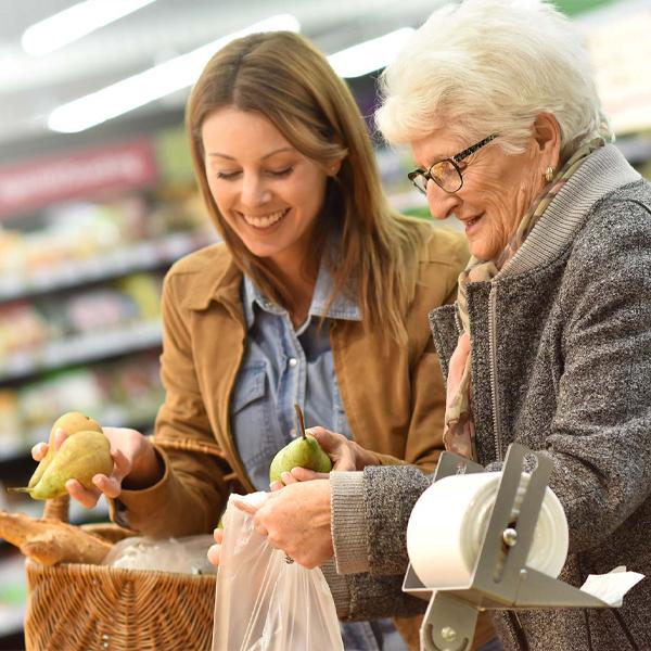 Join family member in doing errands