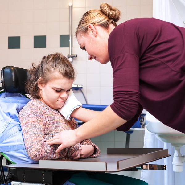 Professional caregiver training