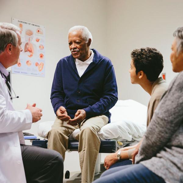 Caregivers help doctors