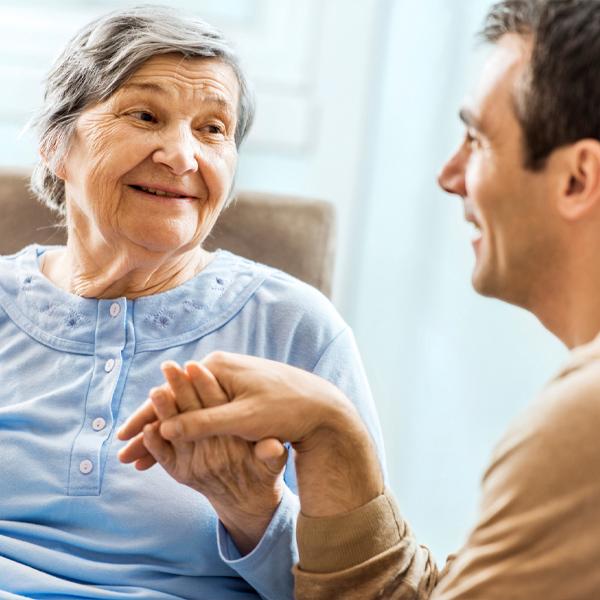 Men as caregivers in elder care