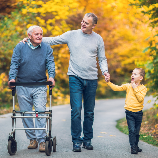 Sandwich generation family caregivers challenge