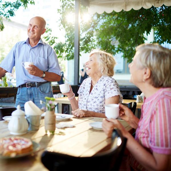Socialización de personas mayores